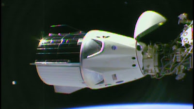 Dragon DM-2 docked to ISS
