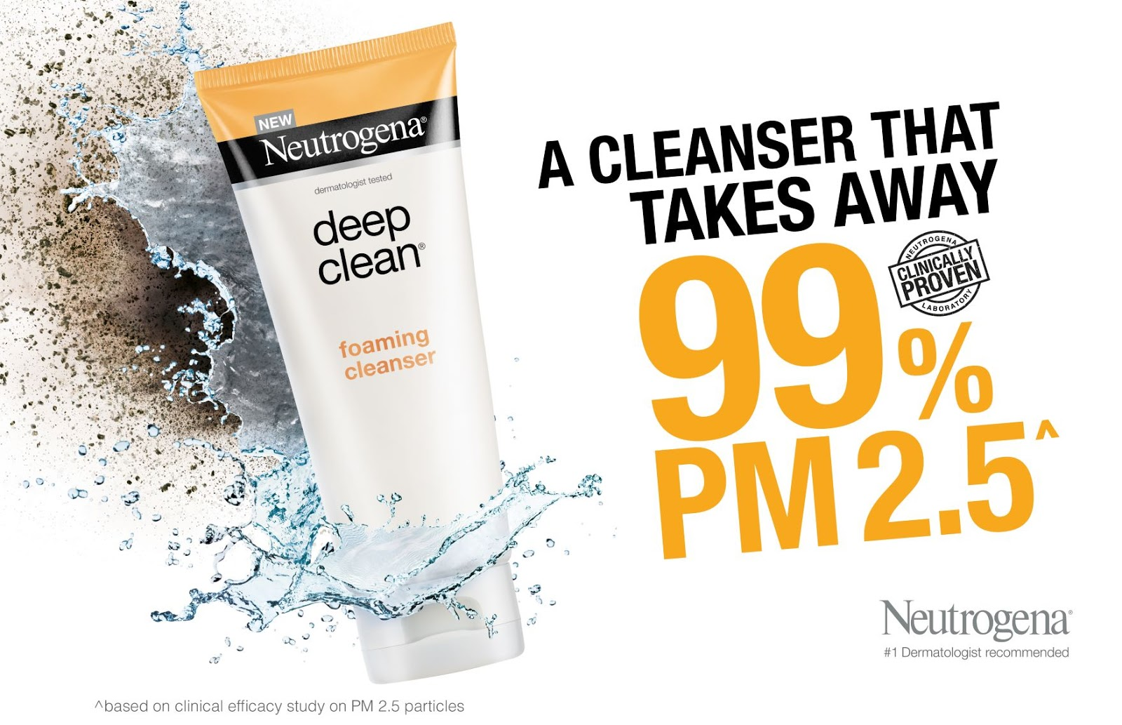 [Beauty Review] Neutrogena® Deep Clean® Foaming Cleanser that removes 99% of micro-pollutants