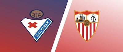 مباراة إشبيلية وإيبار eibar vs sevilla كورة كول مباشر 30-1-2021 والقنوات الناقلة في الدوري الإسباني