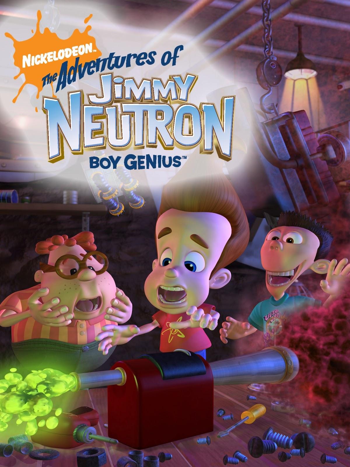 Jimmy Neutron Temporada 1 DVDRip Dual Latino/Ingles