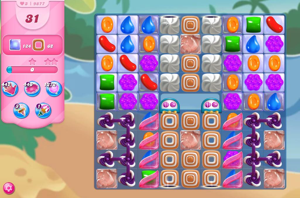 Candy Crush Saga level 9877