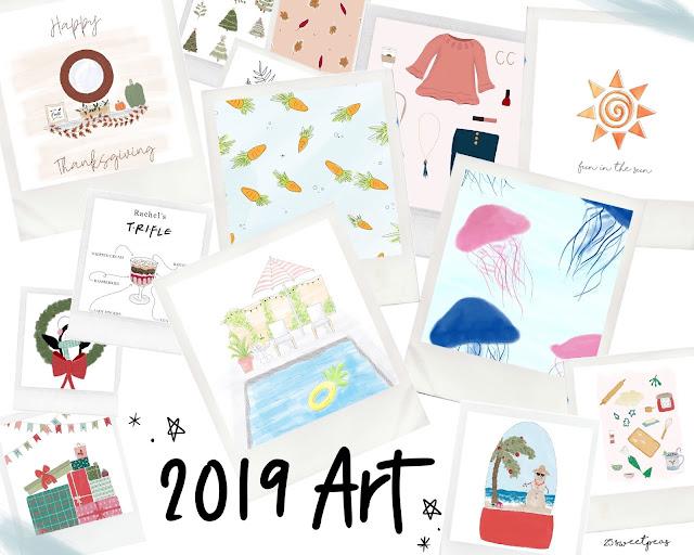 25 Sweetpeas Art Style Series