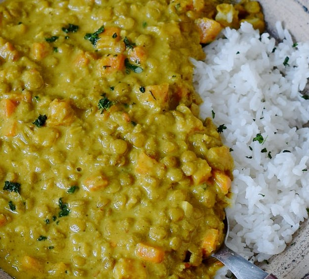 1-POT LENTIL DAL | CREAMY, HEALTHY, VEGAN RECIPE #vegetarian #comfortmeal