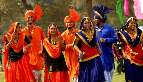 Traditional dress of Punjab