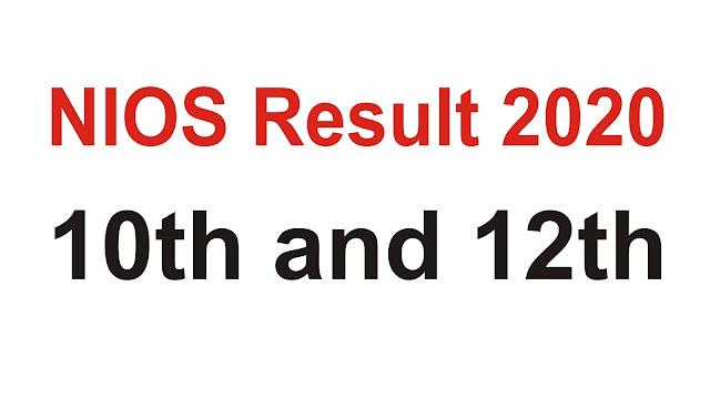 nios result 2020; nios result; nios result 10th and 12th