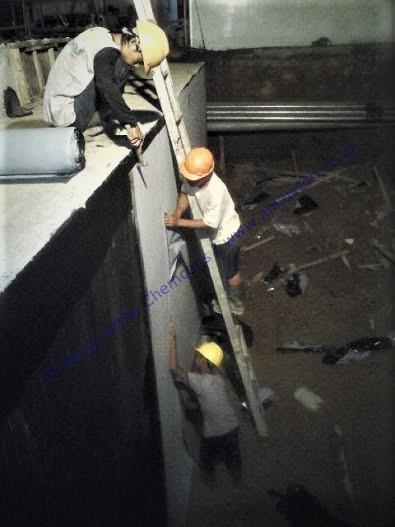 Jasa Waterproofing Membrane Tempel