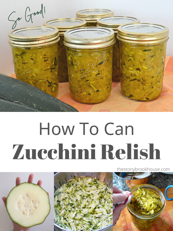 How To Can Zucchini Relish