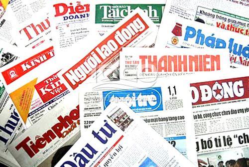 Banner hình ảnh quảng cáo in trên báo giấy ấn phẩm tạp chí