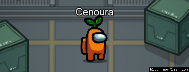 Among Us Cenoura