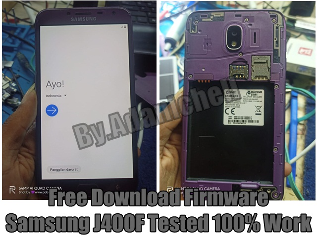 Free Download Firmware Samsung J400F Tested 100% Work