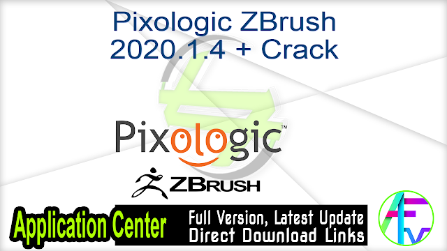Pixologic ZBrush 2020.1.4 + Crack