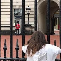 vue sur les soldats de la garde royale londonnienne