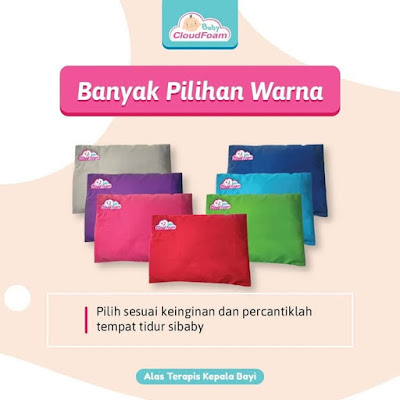 Bantal bayi anti peyang Baby CloudFoam pillow