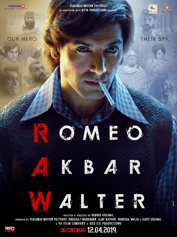 Romeo Akbar Walter Movie Poster