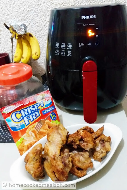 airfrying, airfried chicken, recipe, chicken, chicken recipes, Crispy Fry Breading Mix