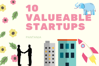 10 most valuable startups in the world.