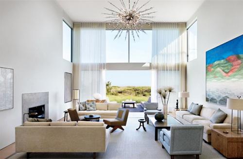 beach house with modern interior design 3 Interior Design House