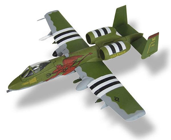aviones de combate A-10C Thunderbolt II
