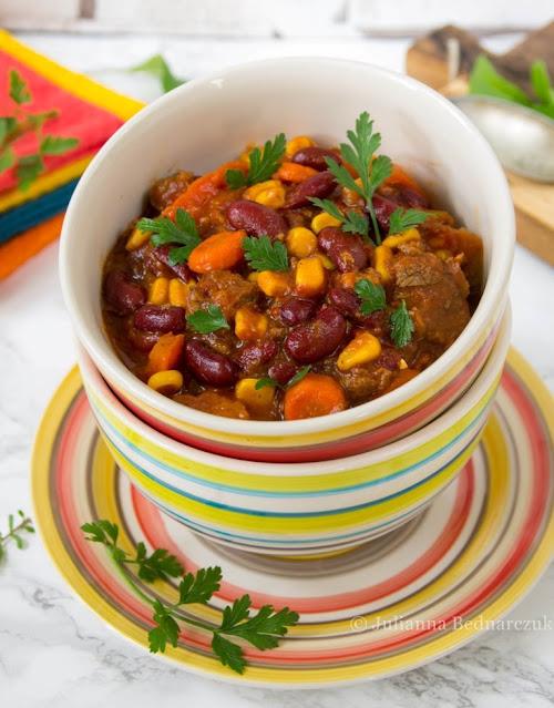 Chili con carne (z wołowiną)