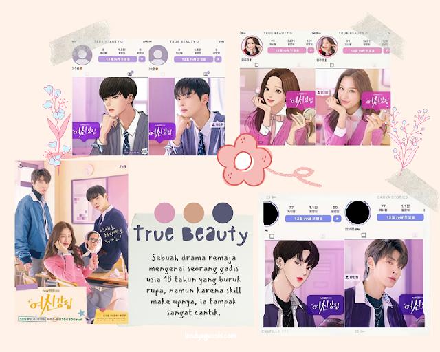 Drama True Beauty : Rahasia Cantik Tanpa Oplas