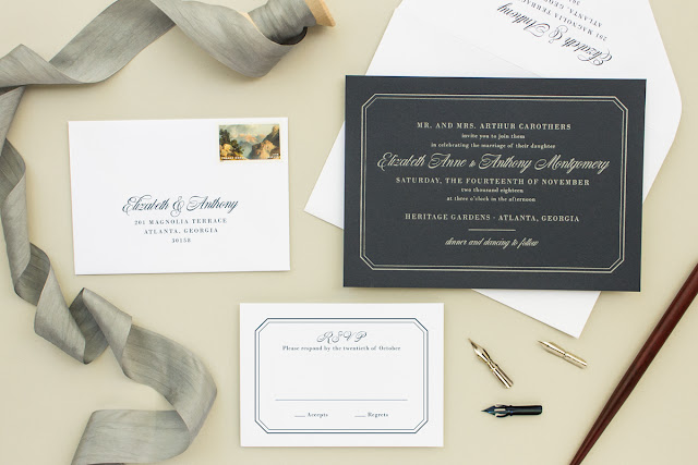 afforable letterpress invitations