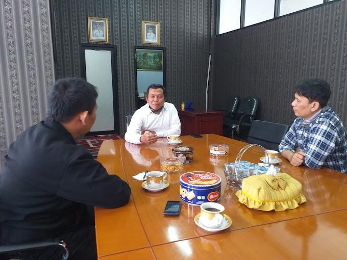 Ketua Cabang LSM Forum Masyarakat  Peduli Koordinasi dengan Ketua DPRD KBB