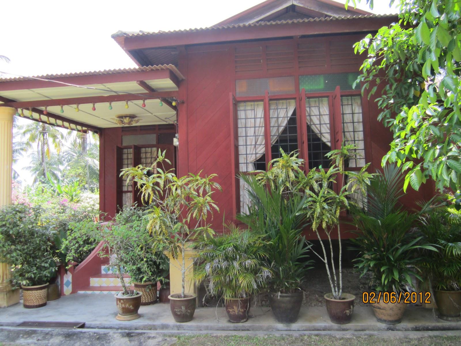 Ujang Kutik Negeri Sembilan Rumah Reka Bentuk Tradisional Di Sekitar Kota Chengkau