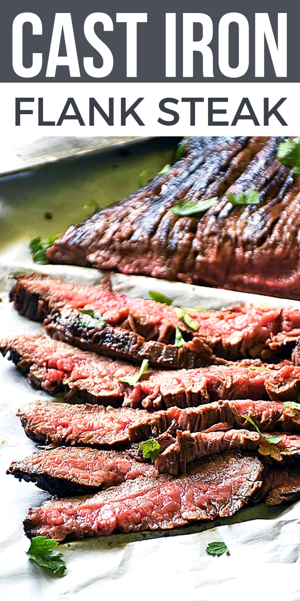 Cast Iron Flank Steak on Pinterest