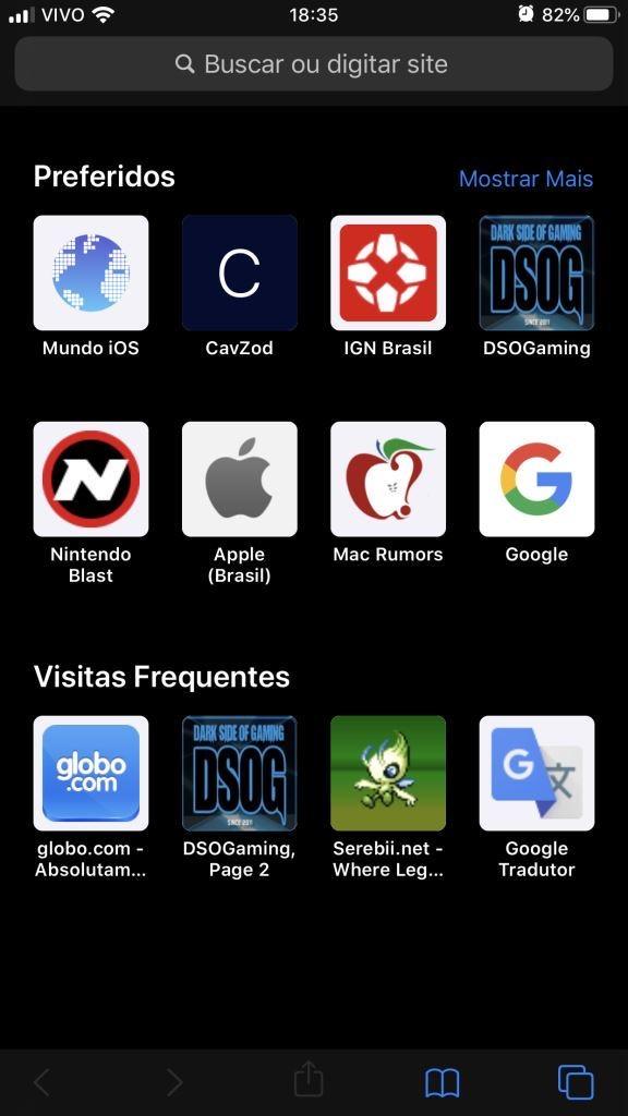 Safari no iOS 13 tem gerenciador de downloads e navegação desktop