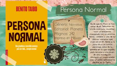 Persona normal - Benito Taibo