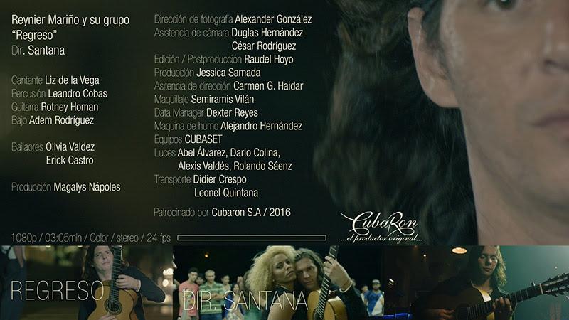 Reynier Mariño y su Grupo - ¨Regreso¨ - Videoclip - Dirección: Santana. Portal Del Vídeo Clip Cubano - 01