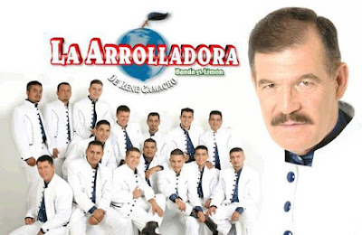 Foto de La Arrolladora Banda El Limón en portada de disco
