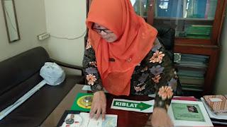 Arah Kiblat Di Kota Cirebon, Dikalibrasi
