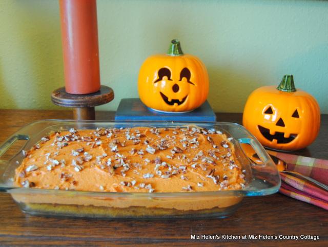 Spicy Pumpkin Cake at Miz Helen's Country Cottage