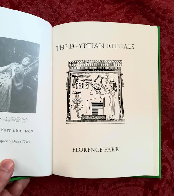 The Egyptian Rituals. Florence Farr. Hermetic Order of the Golden Dawn