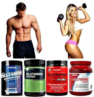 Glutamina aumentar masa muscular pesas