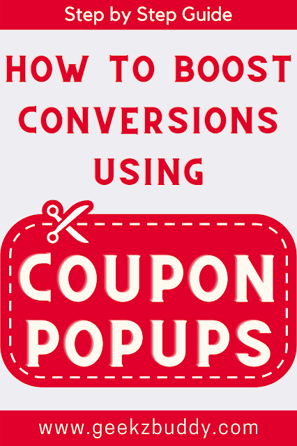 How to boost conversions using coupon popups