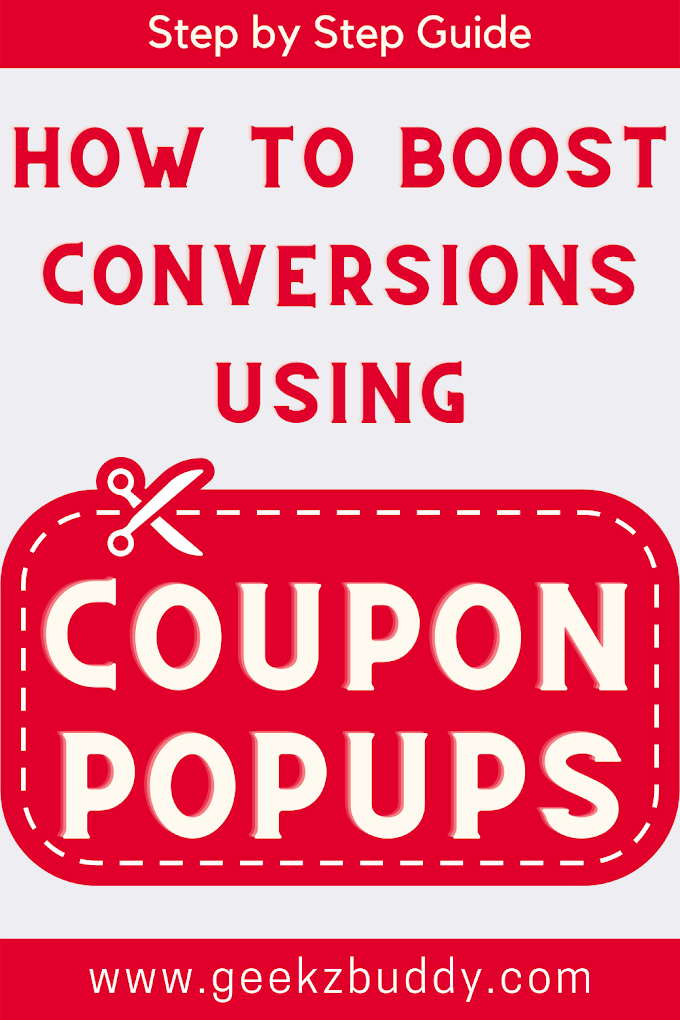 How to boost your Conversions using Coupon Popups