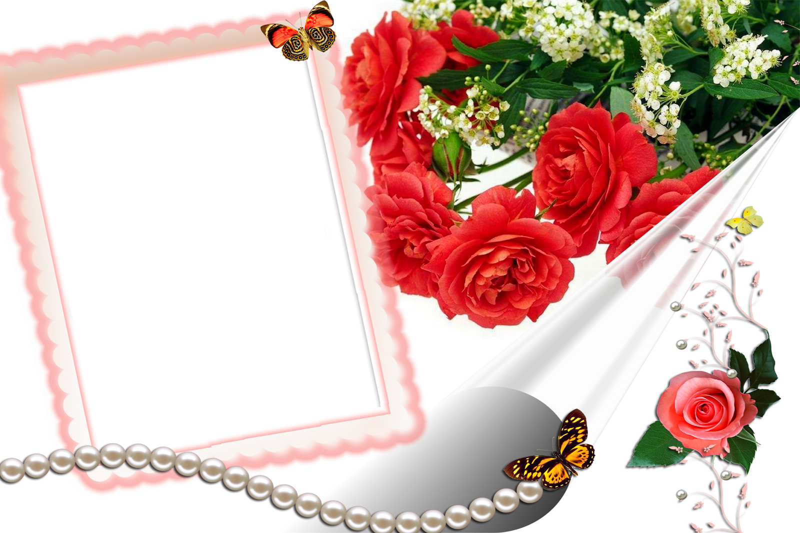 Love Frame Png Transparent Images 1293: SOLO POWERPOINTS: MARCOS PARA FOTOS SAN VALENTIN