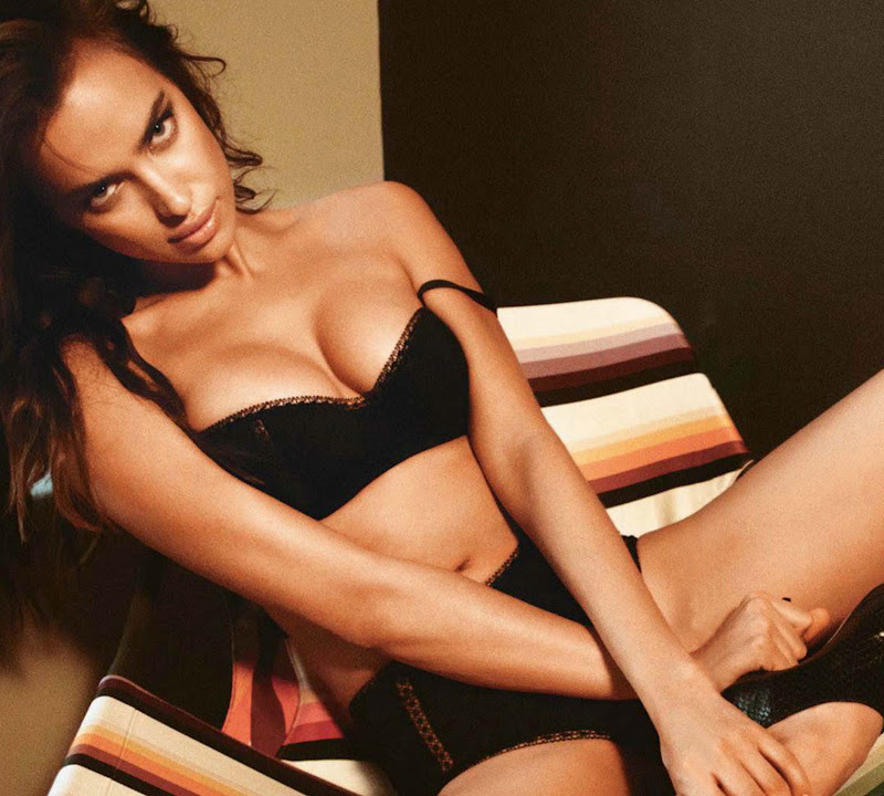 Irina Shayk In Sexy Lingerie And Hot Topless In Esquire -5014