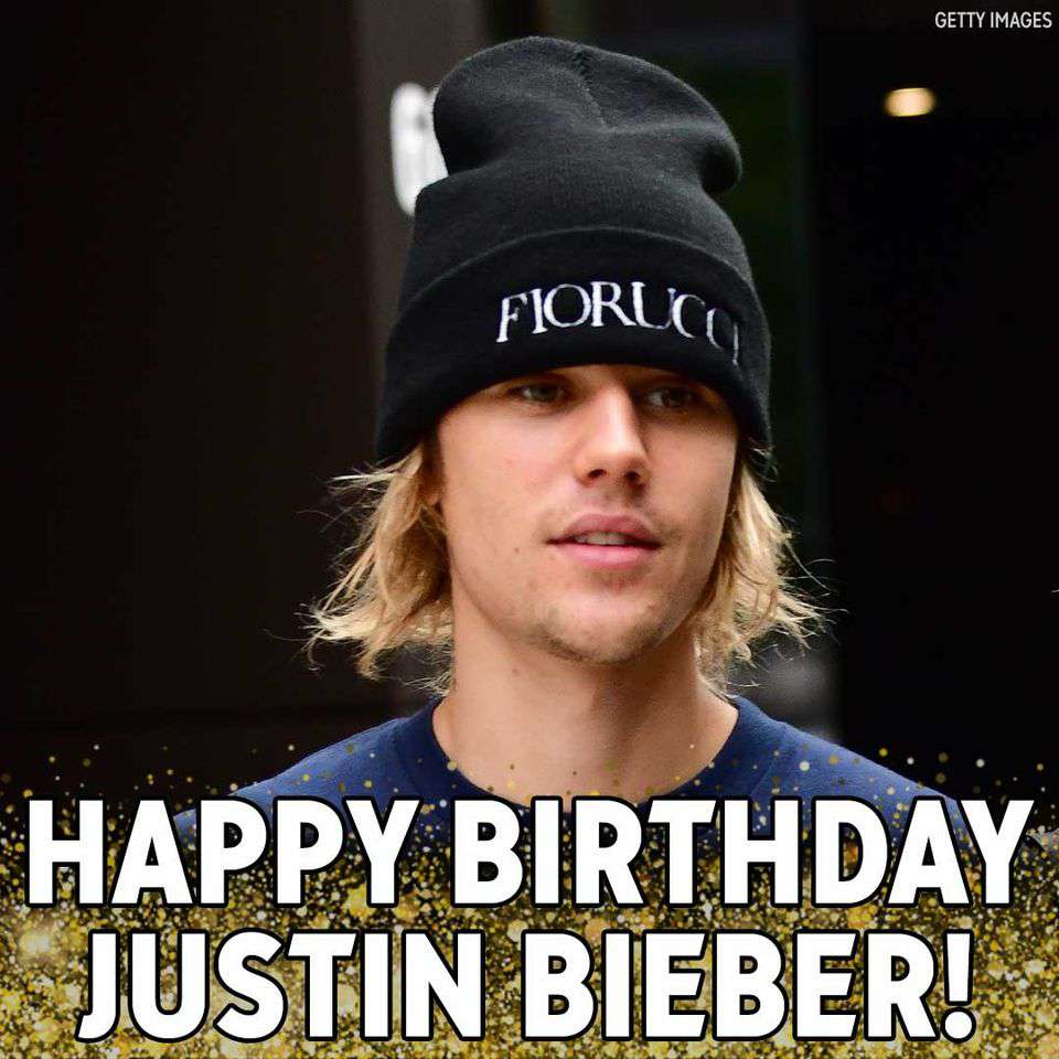Justin Bieber's Birthday Wishes Lovely Pics