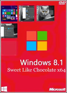 87897895645 - Windows 8.1 Sweet Like Chocolate x64 2014 + Ativador