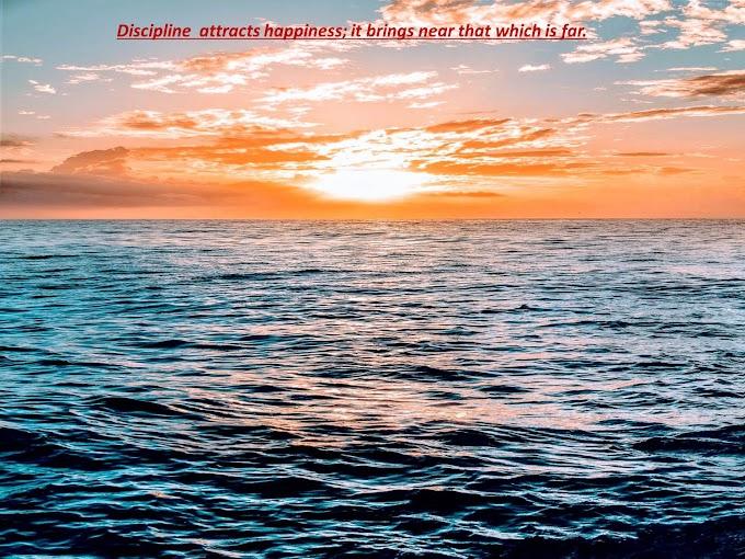 Discipline in Life