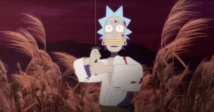 Con motivo de la cuarentena, Adult Swim ha liberado un corto Samurai de Rick y Morty
