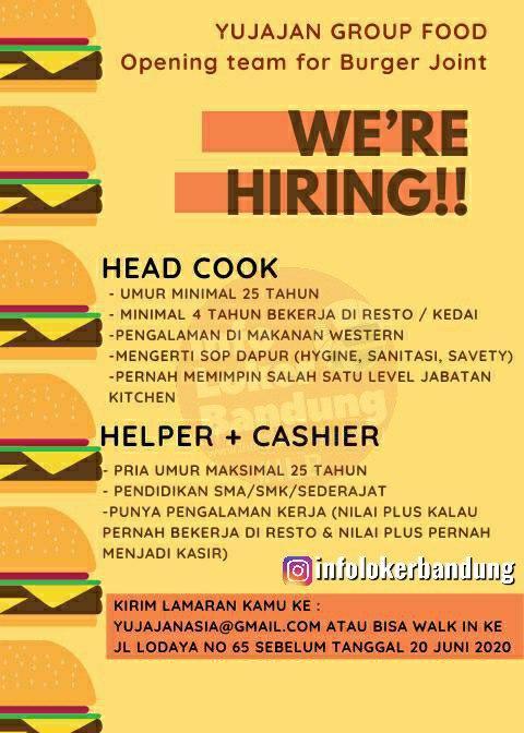 Lowongan Kerja Yujajan Group Food Bandung Juni 2020