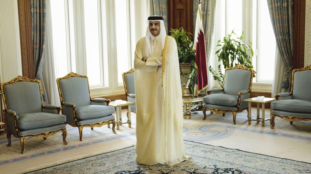 Emir de Catar Sheik Tamim bin Hamad Al-Thani