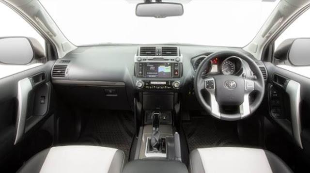2017 Toyota Prado Altitude Specs