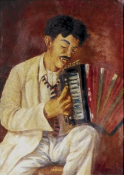Acordeonista, 1933