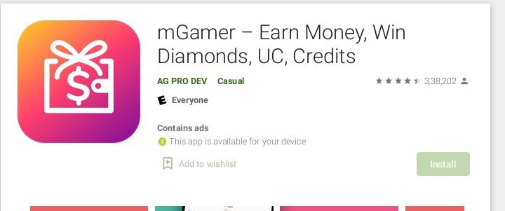 mGamer App