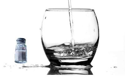 اضرار شرب الماء والملح
